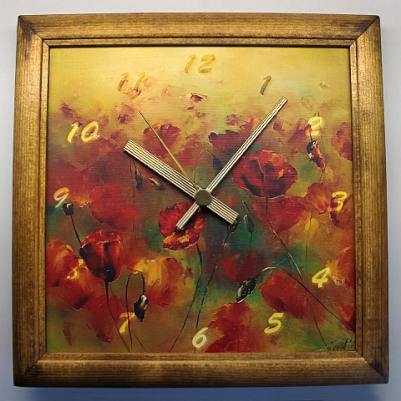 Часы из серии Цветы