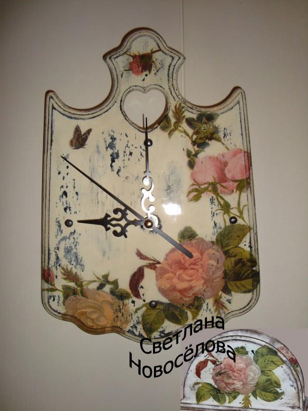 Часы в стиле шеби