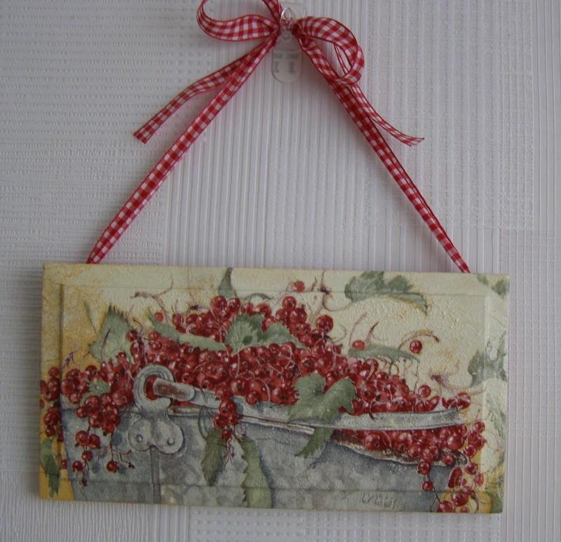 панно настенное Красная смородина