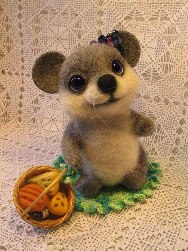 Войлочная мышка Василиска