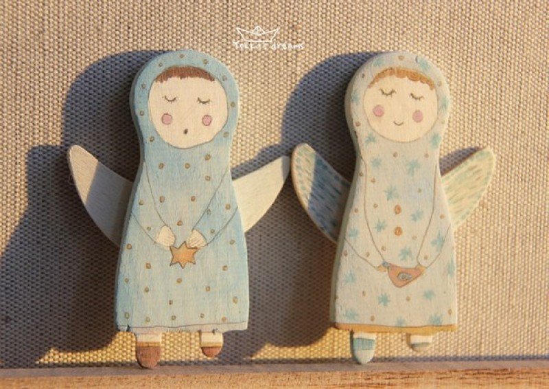 Ангелочки (магниты)