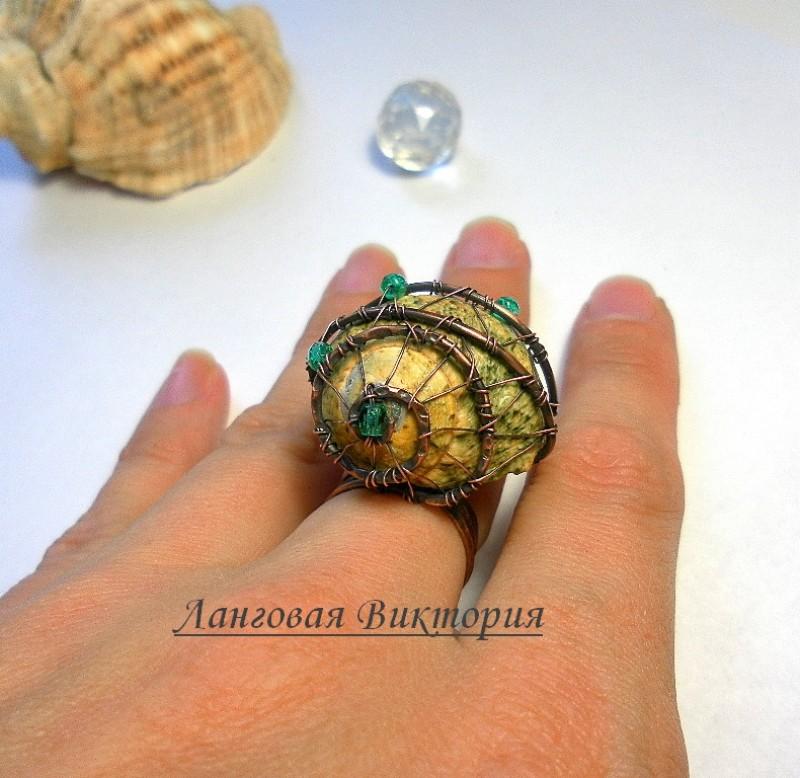 Кольцо Ракушка.