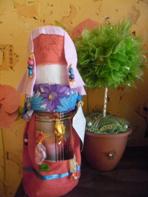 Народная кукла Детская Утешница.