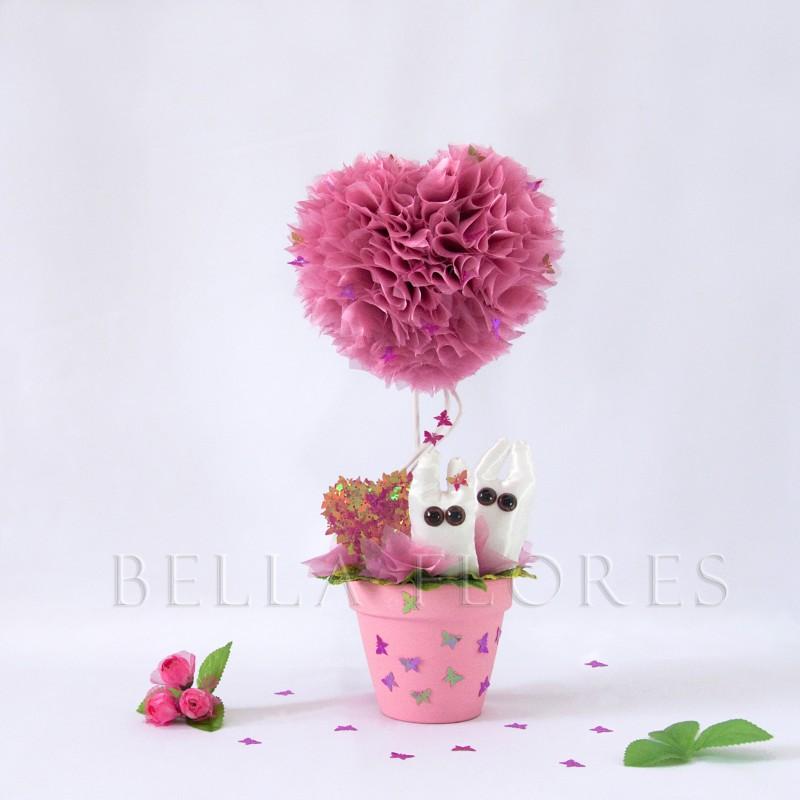 Топиарий Розовые мечты