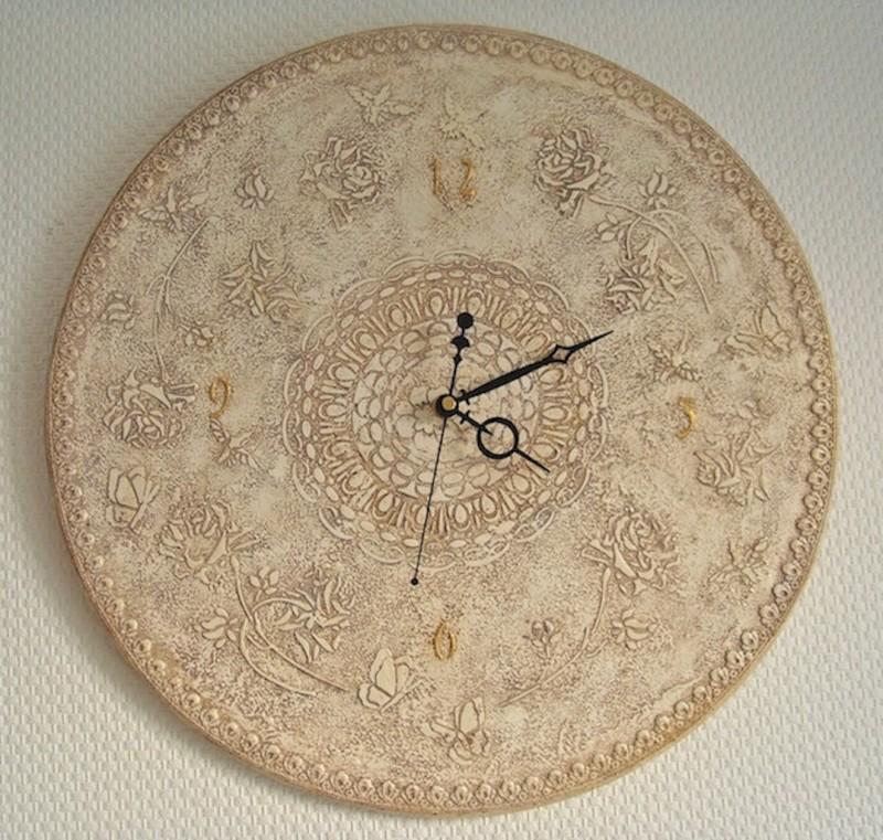 Часы Винтажное кружево