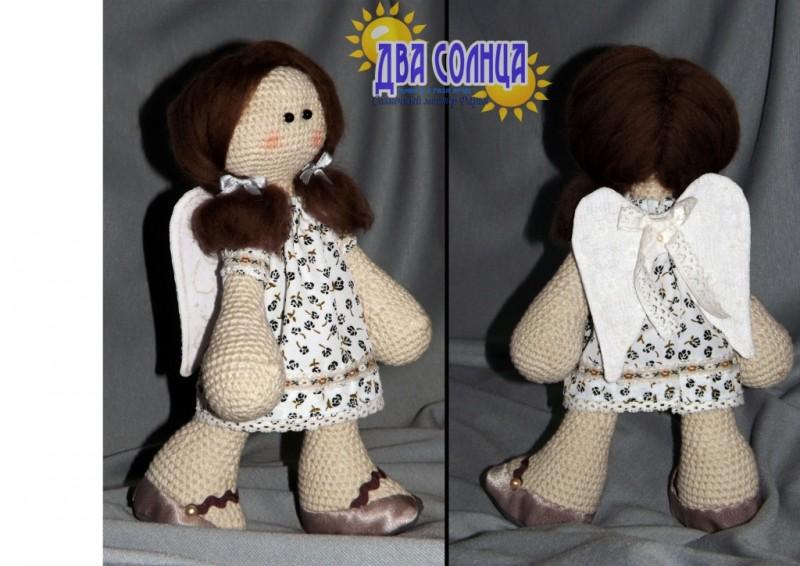 Интерьерная кукла. Единственный экземпляр. Ангел.