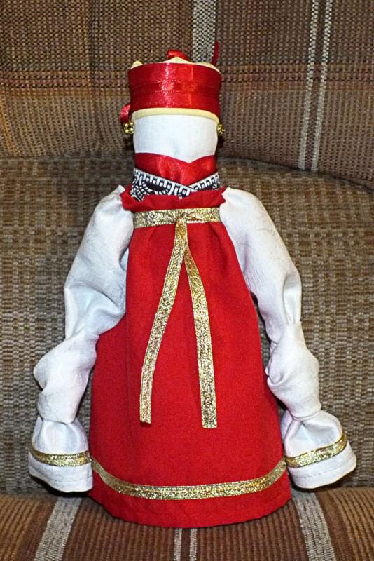 Народная кукла Славутница