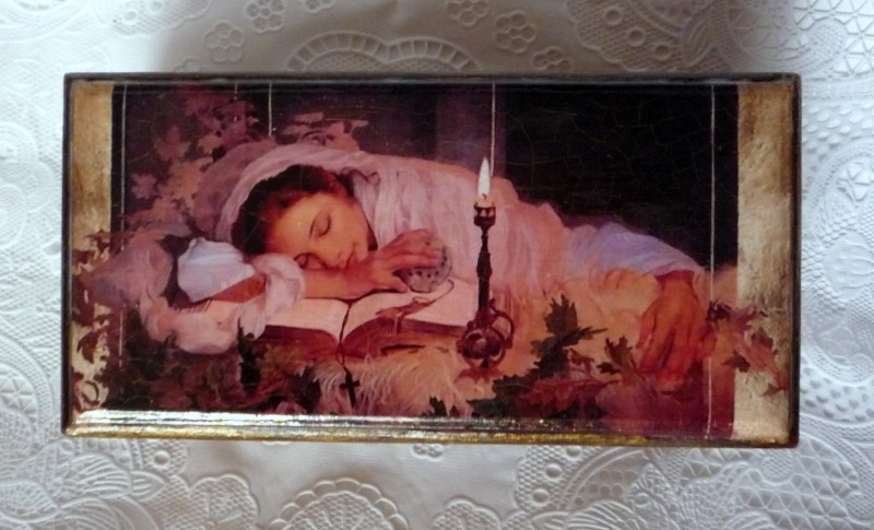 Шкатулка Спящая красавица