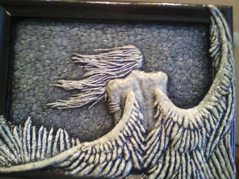 Объёмное панно Ангел