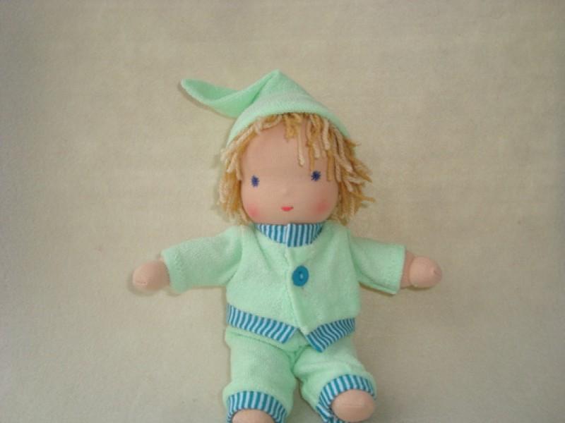Вальдорфская кукла мальчик