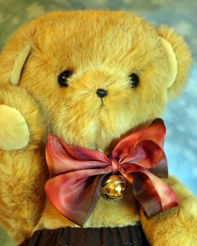 авторский мишка-Тедди