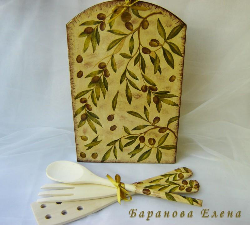 Кухонный набор Оливки