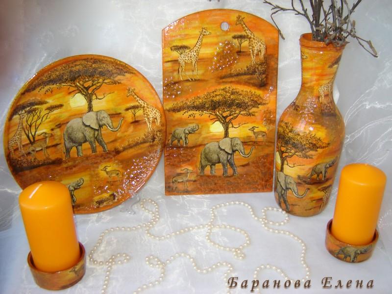 Декоративный набор Саванна