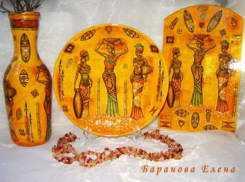 Декоративный набор Африка
