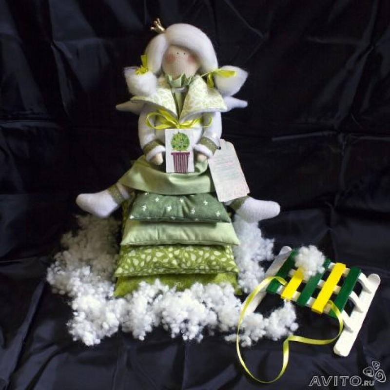 Кукла тильда Принцесса на горошине