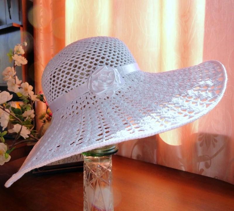 шляпка летняя вязаная