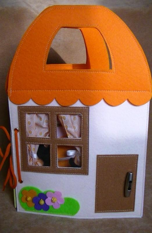 Мягкая книжка Кукольный домик