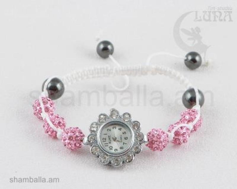 Часы Шамбала розовые