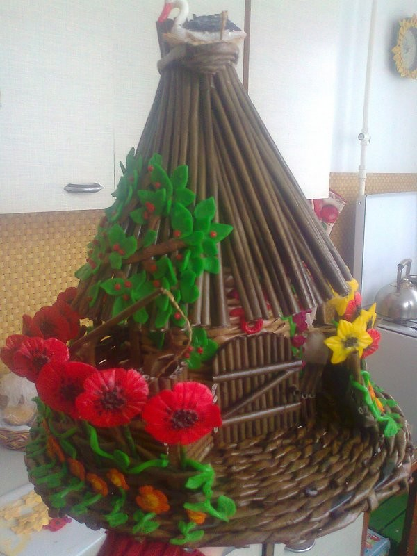 Сувенир-шкатулка Украинская хата