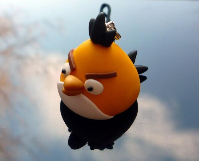 Подвеска на телефон Angry Birds