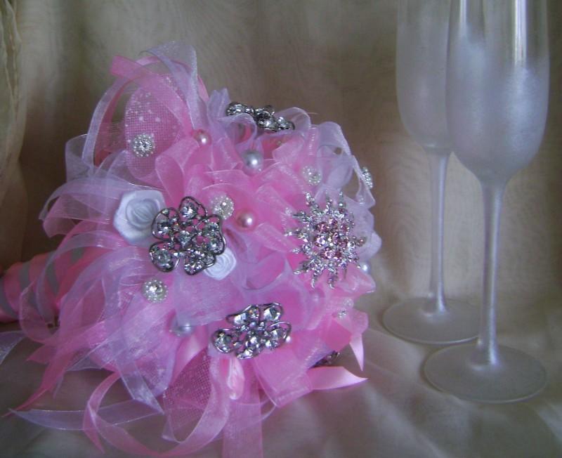 Букет невесты Розовое облако
