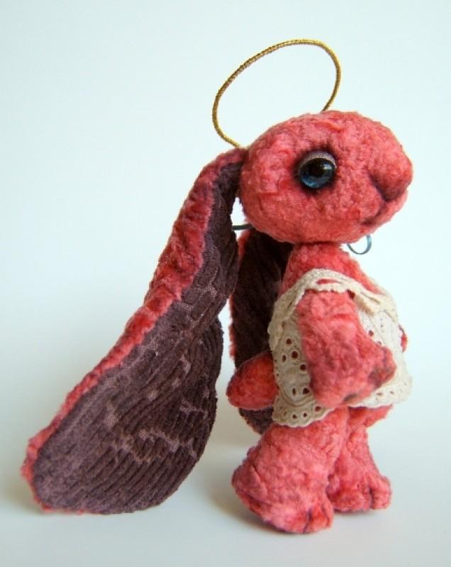 Авторская игрушка заяц ангел ЗайАнгел - Мальва
