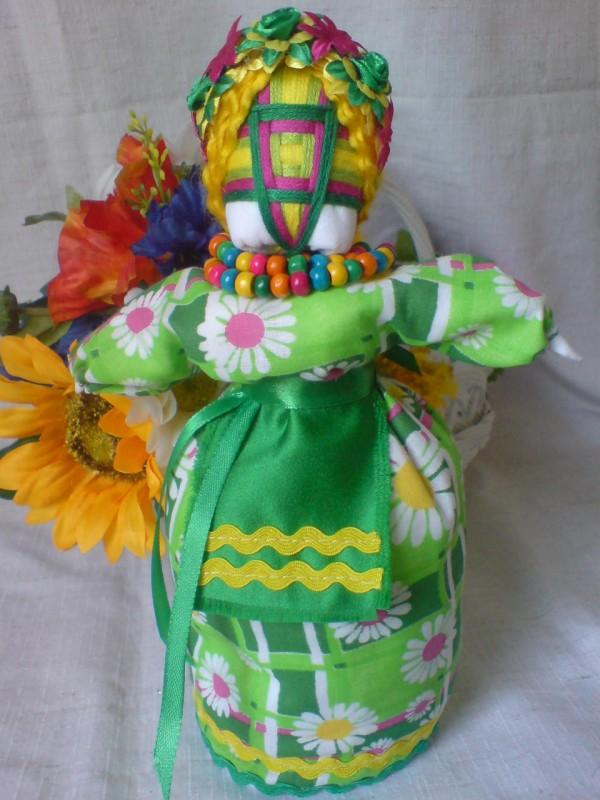 Кукла мотанка Весняна
