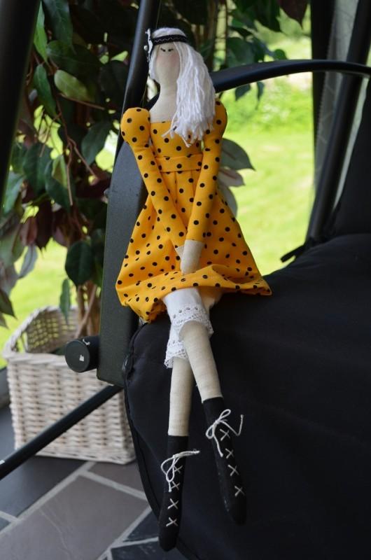 Кукла в стиле Тильда Золушка