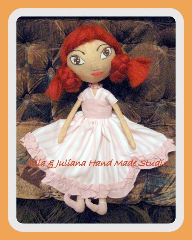 Кукла-тыквоголовка Креолка-для примера