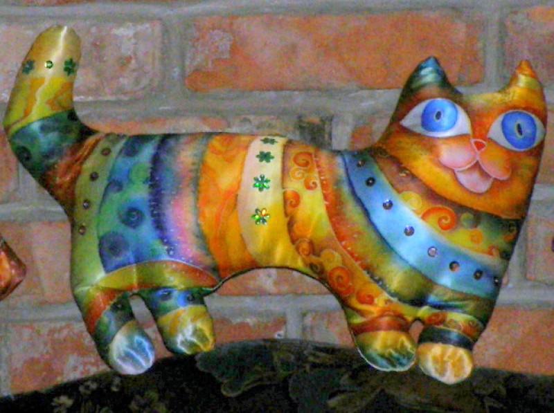 Шёлковый кот Баюн