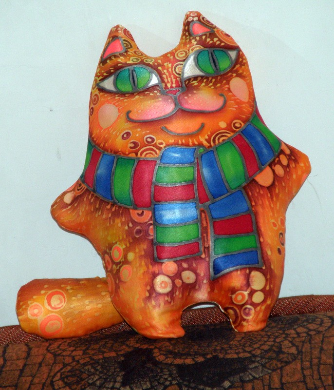 Шёлковый кот