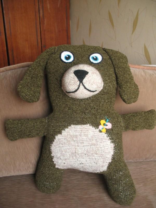 Игрушка - диванная подушка Пиф