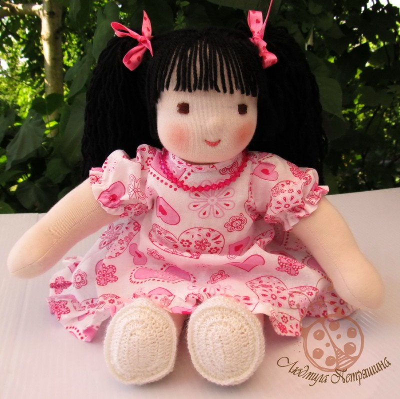 Вальдорфская кукла Мариша