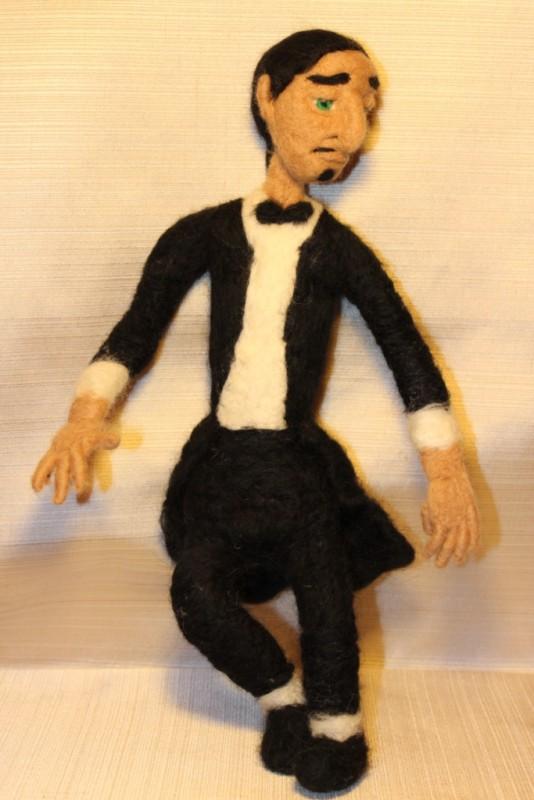 Кукла Пианист Марко