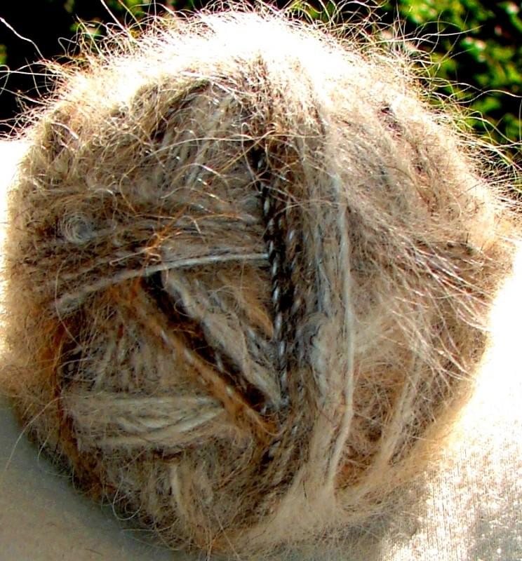 Пряжа лечебная для  вязания  крючком