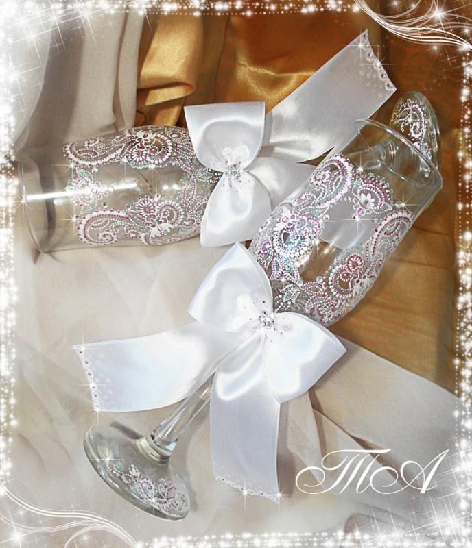 Свадебные бокалы Восточная тайна