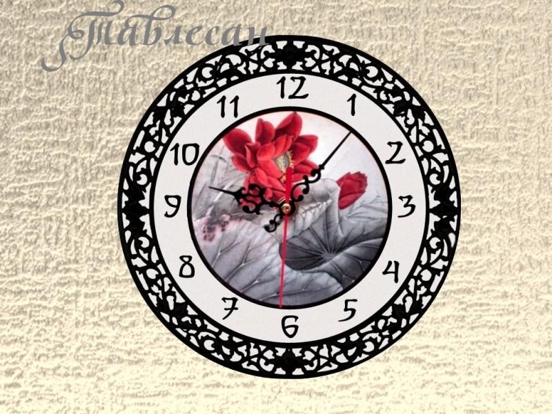 Настенные часы Цветок императора