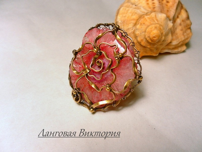 Перстень Rose.