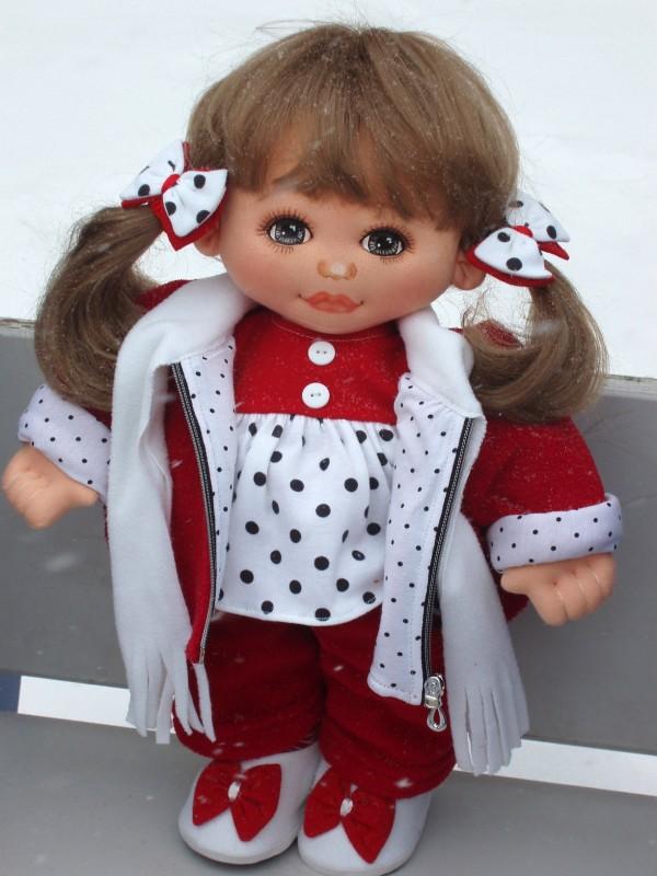 Текстильная кукла Лиля