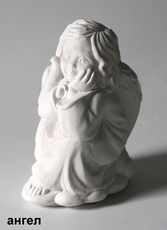 Гипсовая фигурка Ангел с голубком