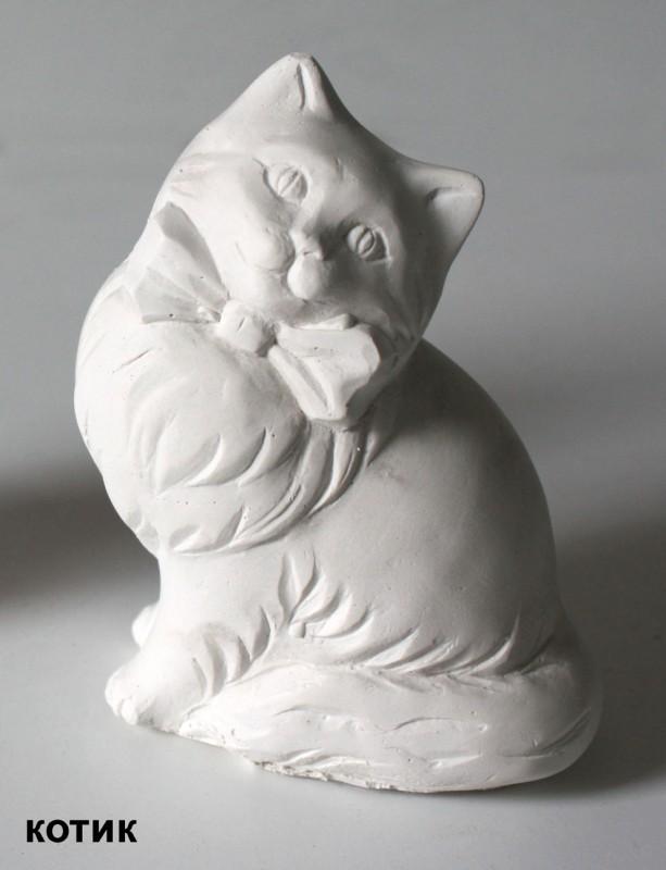 Гипсовая фигурка Кошка