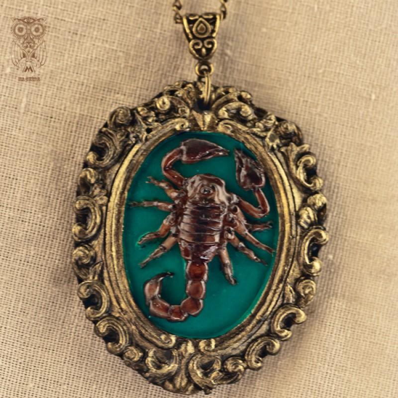 Авторский кулон Подарок Скорпиону