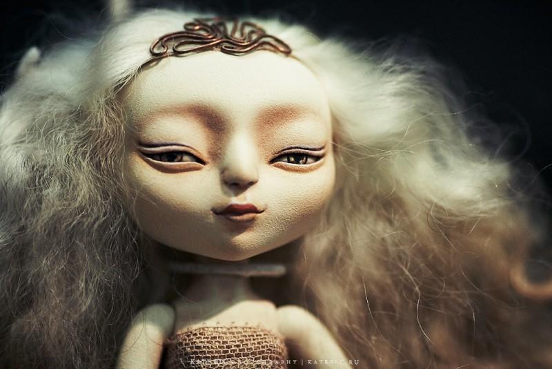 Дух Воздуха Шарнирная авторская кукла OOAK