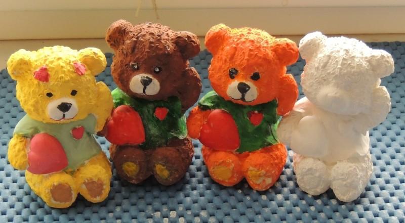 Гипсовая фигурка-раскраска Медвежонок