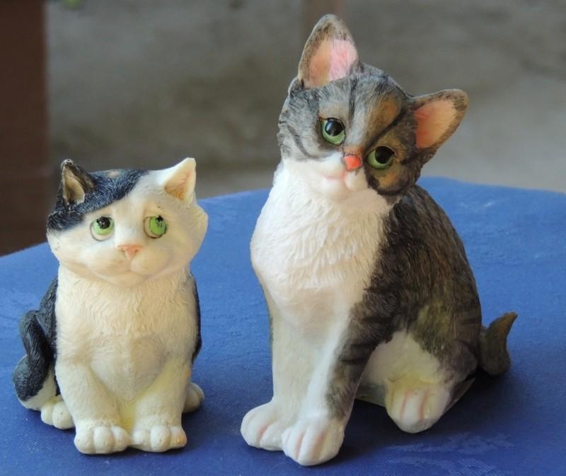 Гипсовая фигурка - раскраска Коты