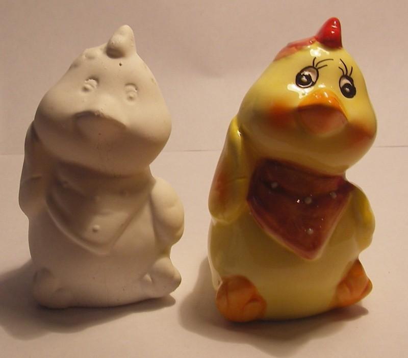 Гипсовая фигурка - раскраска Цыпленок