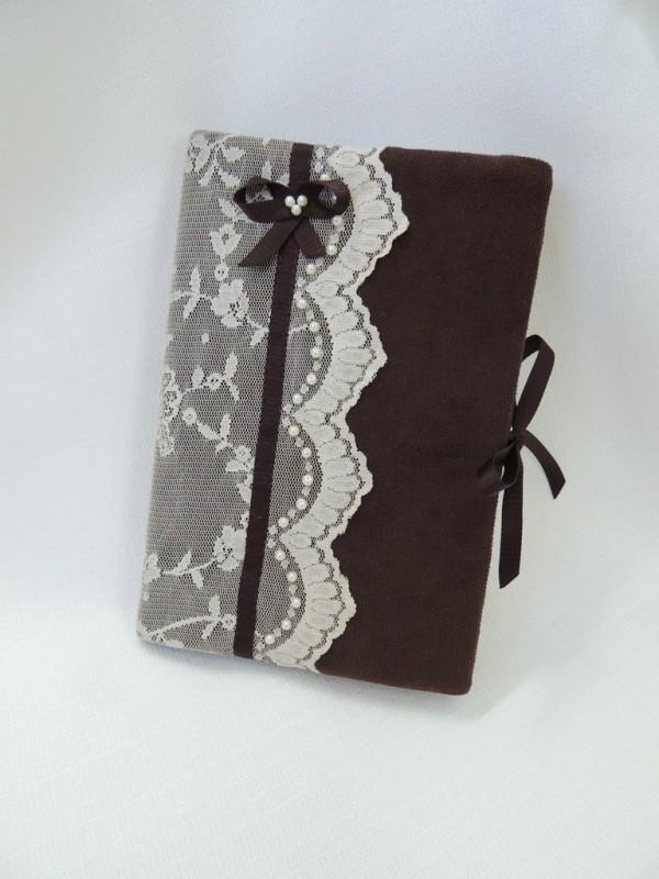 Ежедневник в текстильной обложке