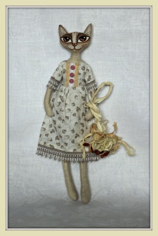 Кошечка из серии Пастораль