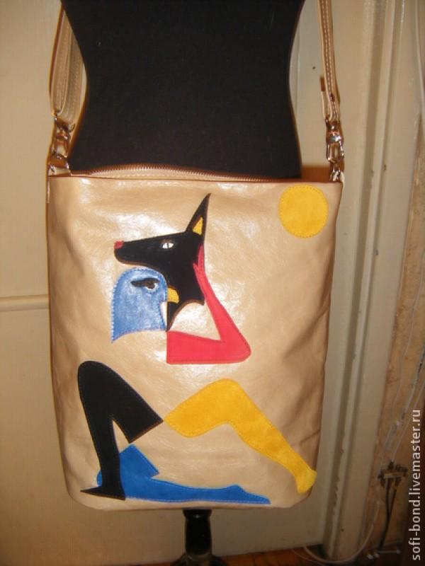 сумка женская Боги Египта
