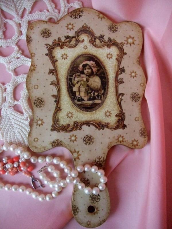 Зеркальце ручное Подарки для любимой ПРОДАНО